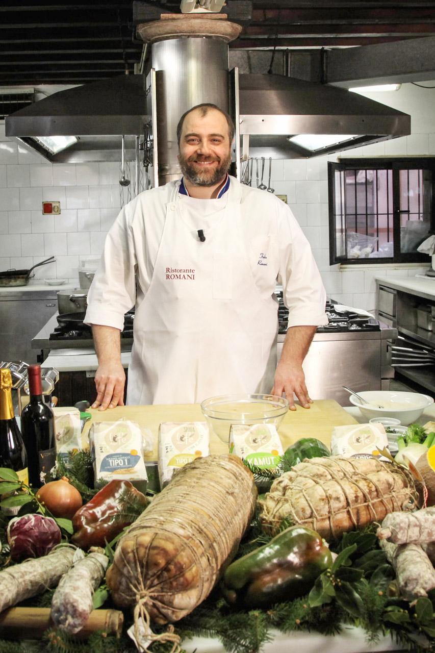 Chef Fabio Romani
