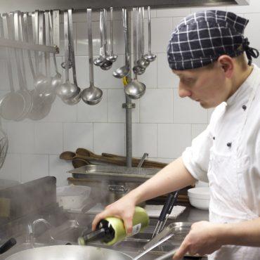 Uno sguardo in cucina