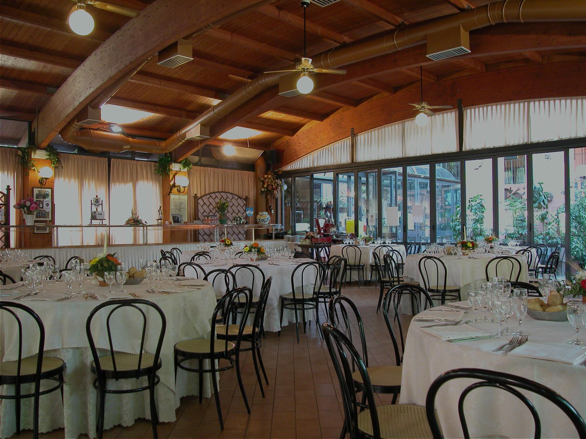 Sala Banchetti ristorante Romani