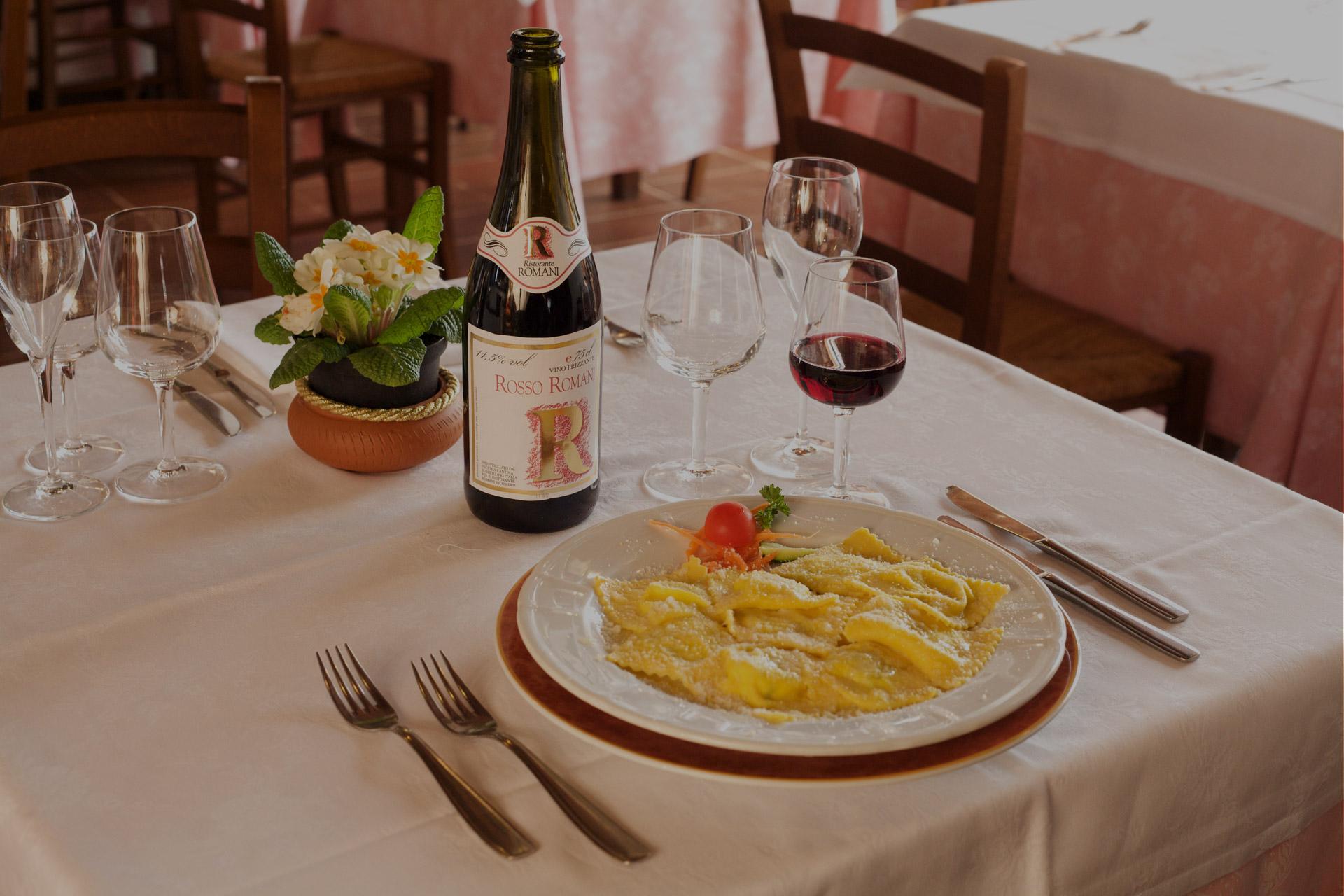 Cucina tradizionale ristorante Romani